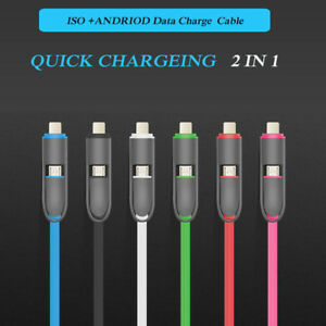 Creative Topk Led Light Micro Usb Cable Zinc Alloy Nylon Braided Usb 2.0 Fast Data Sync Charging Cable For Micro Usb Port Phone Mobile Phone Accessories
