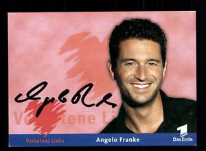 Angelo Franke Verbotene Liebe Autogrammkarte Original Signiert # BC 71887 - Niederlauer, Deutschland - Angelo Franke Verbotene Liebe Autogrammkarte Original Signiert # BC 71887 - Niederlauer, Deutschland