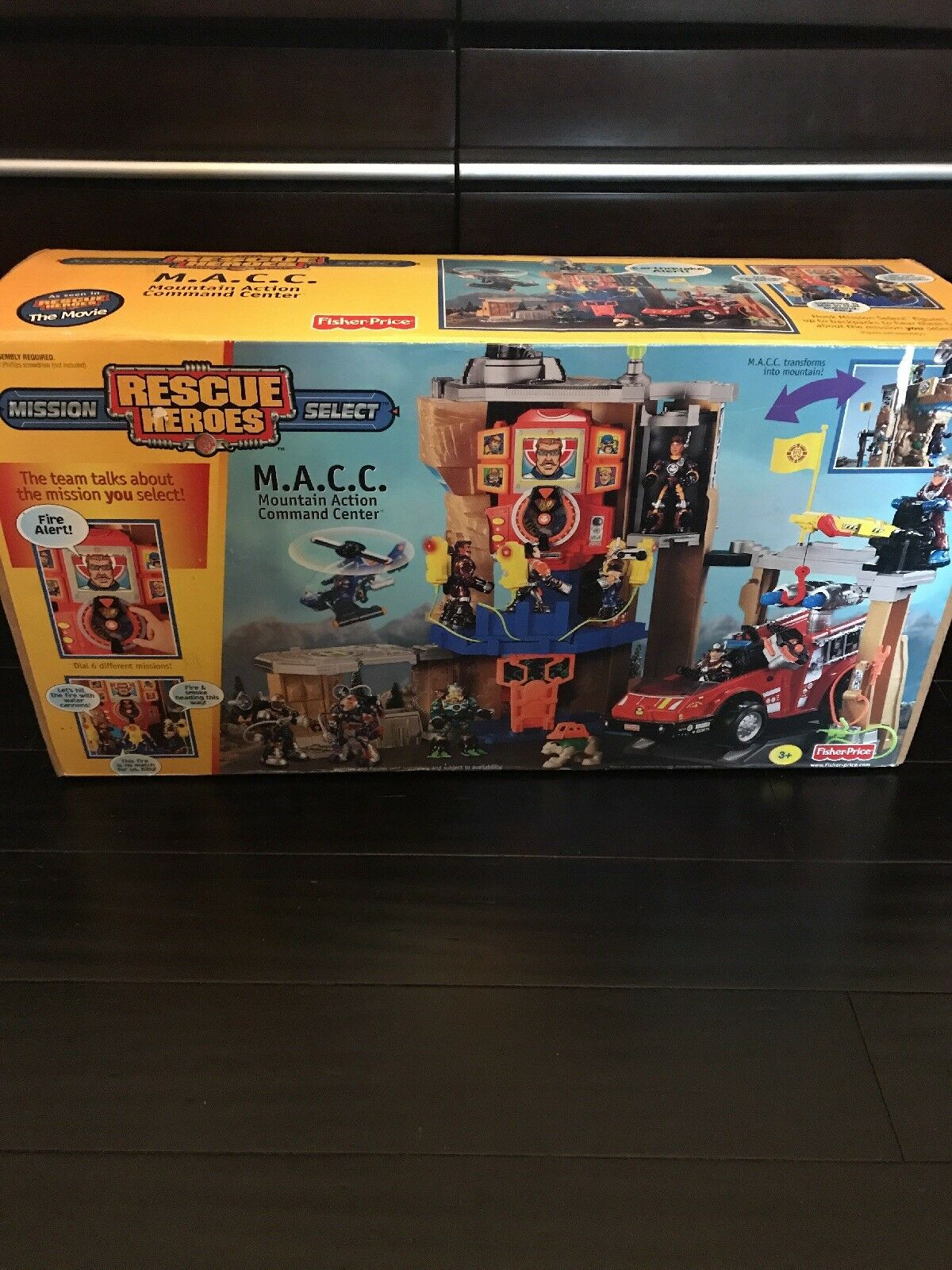 Rescue Heroes Mountain Action Action Action Command Center 22b3b4
