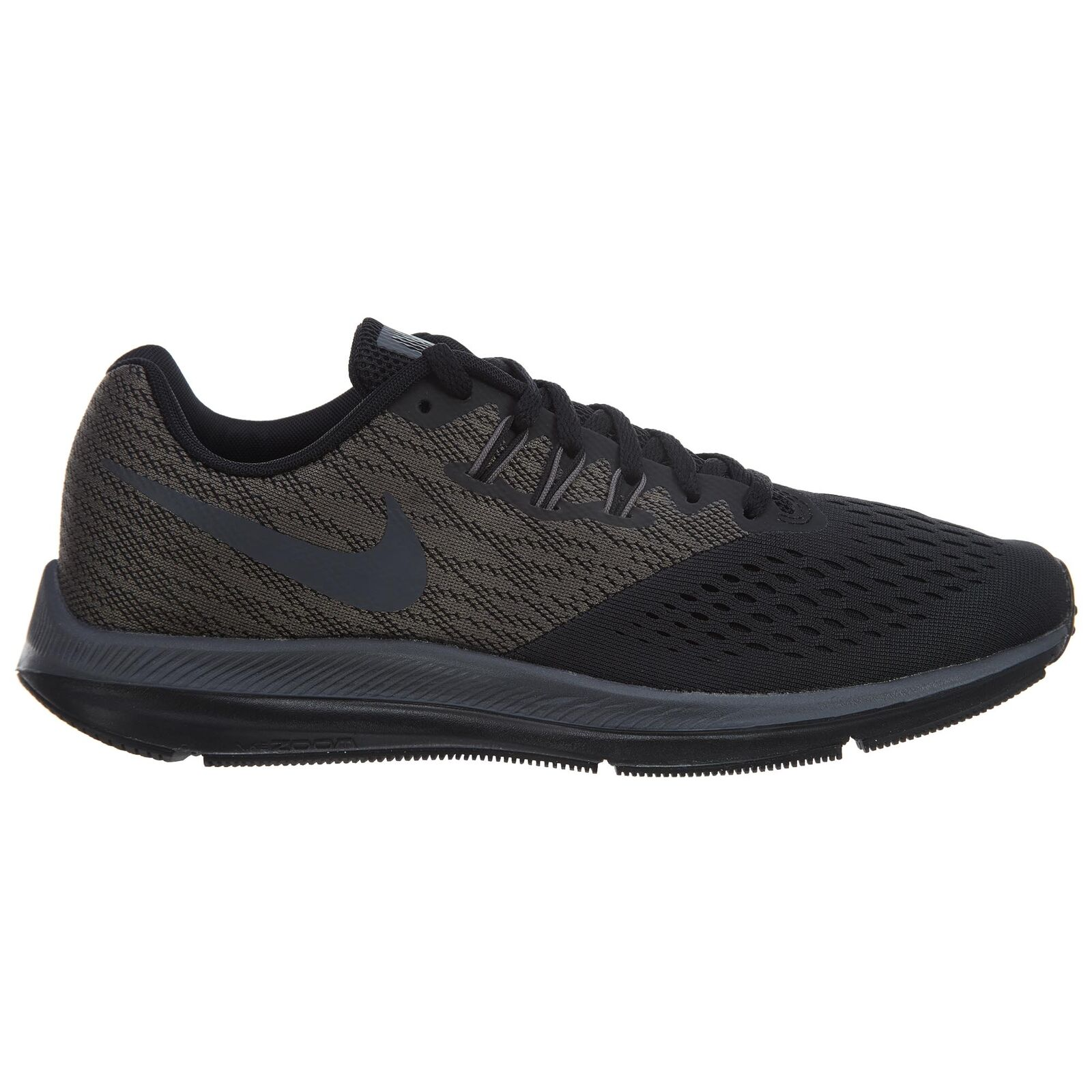 Nike Zoom Winflo 4 Mens 898466-007 Anthracite Grey Black Running shoes Size 8.5