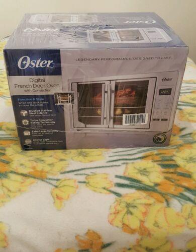 Oster TSSTTVFDDG Digital French Door Oven Stainless Steel