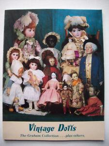 Vintage Dolls Auction Catalog Graham Collection Ebay