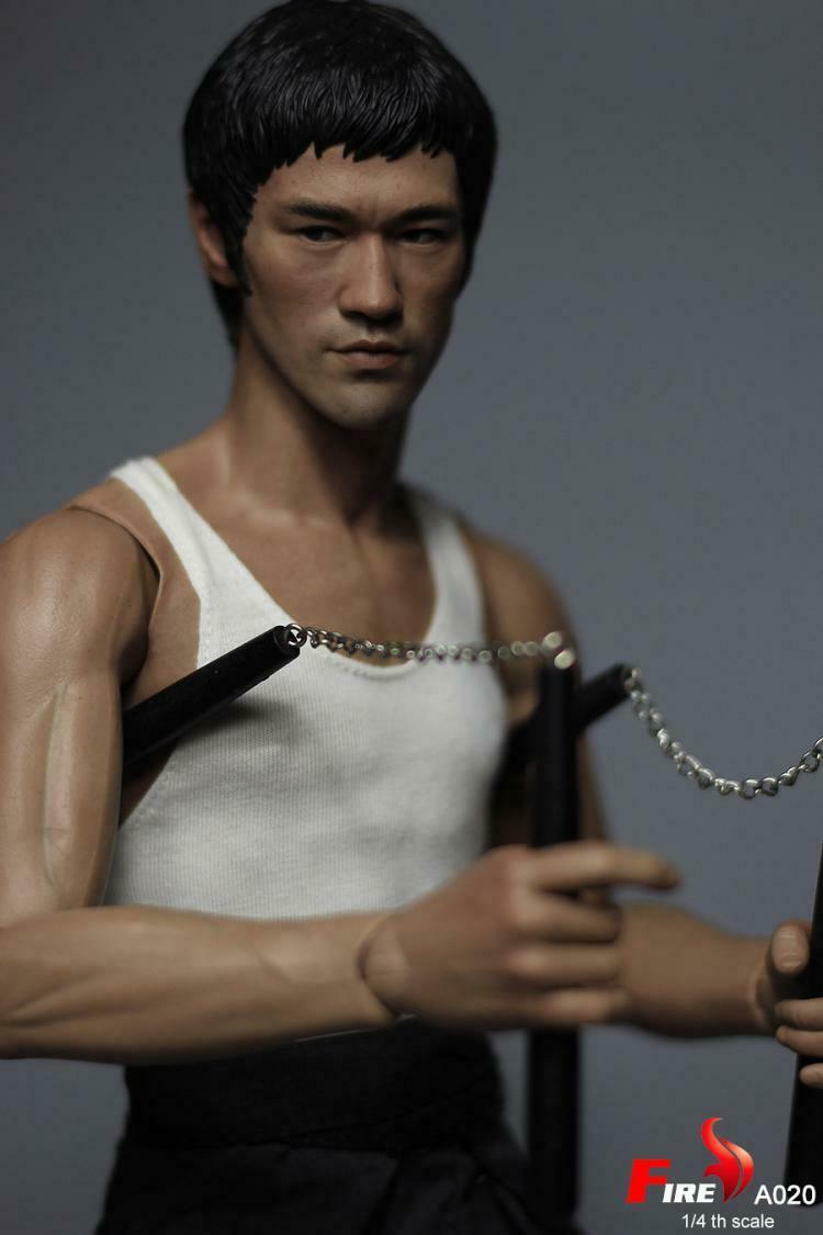 [Express] 1 4 Fire Toys A020 Way of the Dragon Tang Lung Bruce Lee 18  Figure
