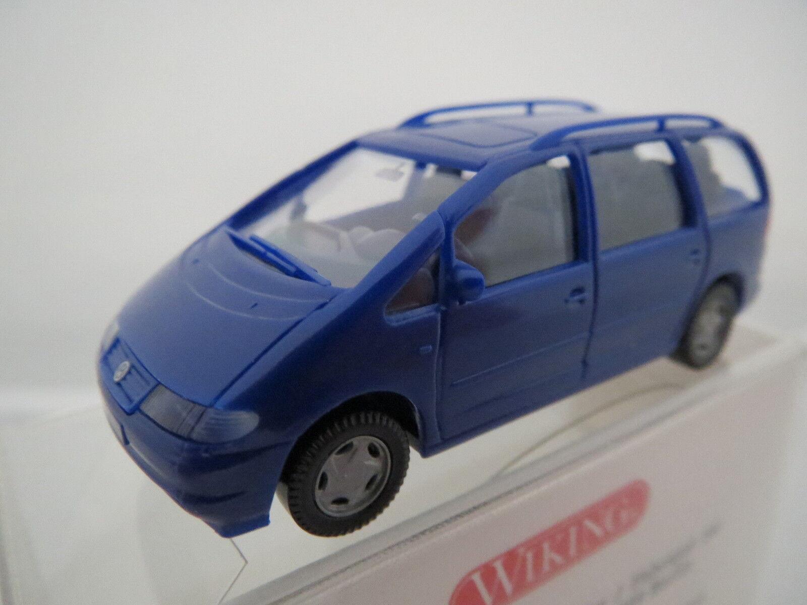 Wiking 2990120 vw sharan, bleu, 1 87, top  OVP