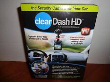 Clear Dash HD High Definition Car Video Recorder Camera As seen on TV Free Ship