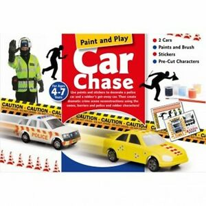 INTERPLAY-CRAFT-BOX-PAINT-amp-PLAY-CAR-CHASE-CB203-REDUCED-TO-CLEAR-FREE-UK-P-amp-P