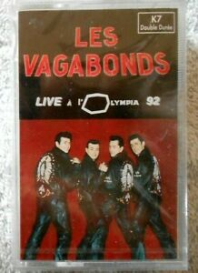 les-Vagabonds-034-live-a-l-039-Olympia-92-034-K7-audio-Neuve-sous-cellophane