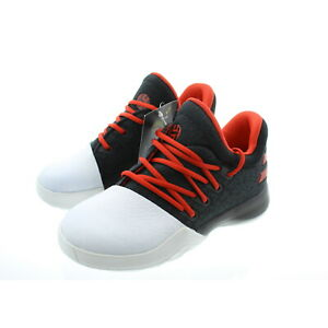 Adidas Kids Youth James Harden Vol 1 Basketball Shoes Trainers Black