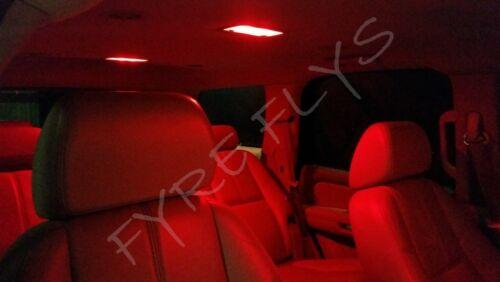 6x Red LED lights interior package kit for 2001-2005 Toyota RAV4 TR2R