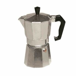 Espressokanne 1 Tasse 1 Stück silber