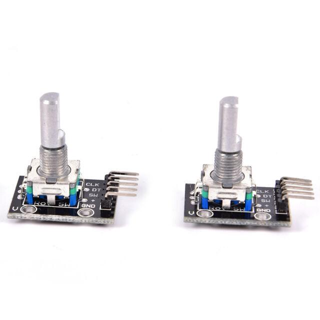 2pcs KY-040 Rotary Encoder Module for Arduino AVR PIC I2