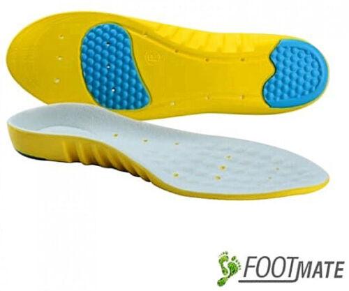 COMFORT Latexschaum Schuheinlagen Fußbett einlege Sohlen gegen Plattfüße NEU