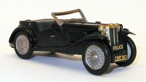 Scricchiola-di-Camberley-auto-modello-IN-SCALA-1-43-PC4-MG-Auto-della-polizia-Nero