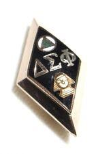 DELTA SIGMA PHI  Fraternity/Sorority Pin, 10K, Named, 3-6-49.10K, 2.6g