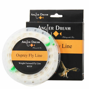 Fly-Line-WF-1-2-3-4-5-6-7-8-9F-White-Fly-Fishing-Line-amp-2-loop-amp-Spool-Box