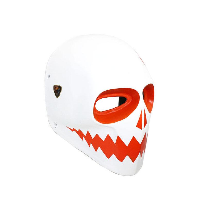 Fine Paintball CS Airsoft Full Face PC Lens Eye Predection Skull Mask PROP M7844