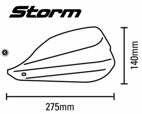 Fitting Kit for Honda NC700X NC750X 2012 to 2018 /& Barkbusters Storm Hand Guards