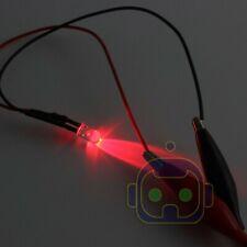 8mm 9v 12v Pre Wired Led Lamp Light Red Blue Yellow Green Emitting Diode 10 Pcs