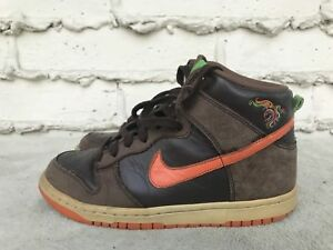 blue and green nike dunks