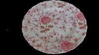 "JOHNSON BROS ROSE CHINTZ ENGLAND 10"" DINNER PLATE (12 AVAILABLE)"
