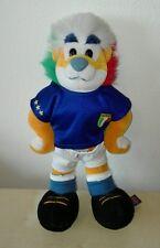 Peluche leone italia 2006 mascotte nazionale originale trudi lion plush