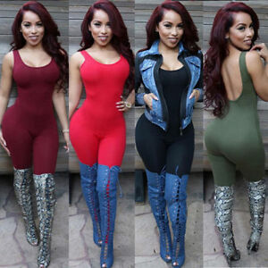 NEW-Women-Ladies-Clubwear-Summer-Playsuit-Bodycon-Party-Jumpsuit-Romper-Trousers