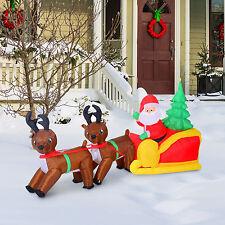 LED Weihnachtsmann Schneeman Weihnachtsfigur Weihnachtsdeko Santa Nikolaus Deko