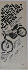 Advert Pubblicità 1980 SWM RACING GTS 125/315