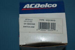 GMC Chevrolet Headlight Switch Grey Part # 15693548 NOS OEM Factory Original