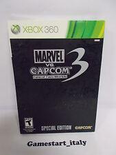 MARVEL VS CAPCOM 3 SPECIAL EDITION - XBOX 360 - NUOVO NEW - NTSC VERSION