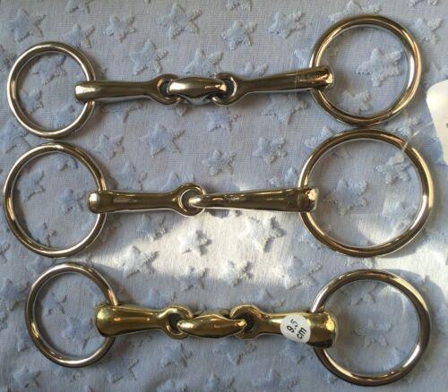 Fahrgebisse & -kandaren Reit- & Fahrsport Shetty Ausbildungsgebiss 8,5-10,5cm mit kleinen 40mm Ringe Minishetty
