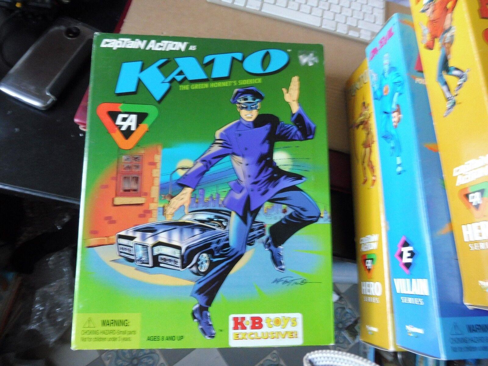 CAPTAIN ACTION HERO SERIES - KATO EN BOITE -TBE- BRUCE LEE