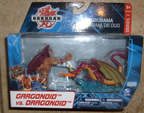 SEGA BAKUGAN BRAWLERS DRAGONOID VS GARGONOID FIGURE MIB