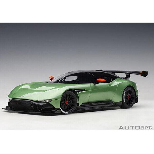 AUTOart Aston Martin Vulcan 1 18 Model Car Apple Tree Grün Metallic 70263