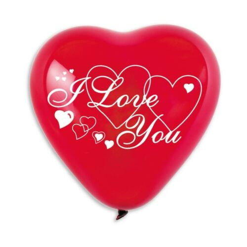 "Globos De Amor de forma de corazón que te amo 5 un. 10/""-25cm"