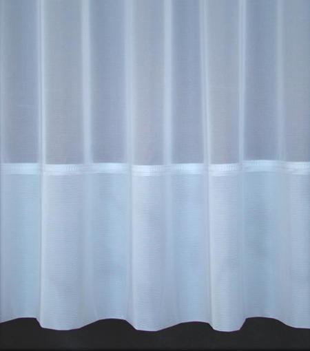 Retardante De Fuego Eve blancoo neto Cortina 1 Rollo (20 metros) ranura encabezado superior 81  Gota