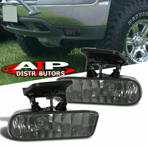 Clear-Fog-Lights-Bumper-Replacement-Lamps-For-2000-2006-Yukon-2099-2002-Sierra