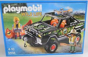 Dschungel PLAYMOBIL 5558 Wild Life Abenteuer Pickup Neu OVP