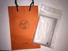 Guaranteed Authentic Hermes Raincoat Plastic Sleeper Cover Size 8 for Bag