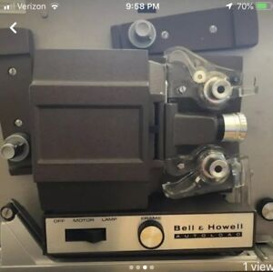 Vintage Bell & Howell 356 Auto Load 8mm Film Projector