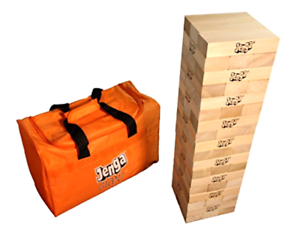 Brand New Jenga GIANT JS7 Hardwood Game (Stacks to 5+ feet. Ages 12+)