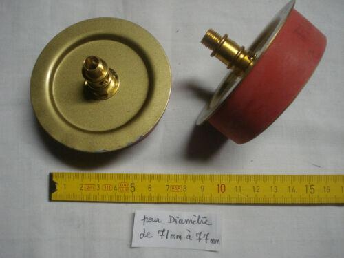 en caoutchouc et laiton potiche 1 adaptateur 70 mm extensible pour vase