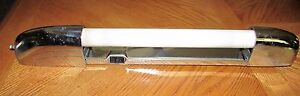 Vintage AIRSTREAM? RV TRAILER? HOME? CHROME Vanity Light w Plug In Grab Handle??