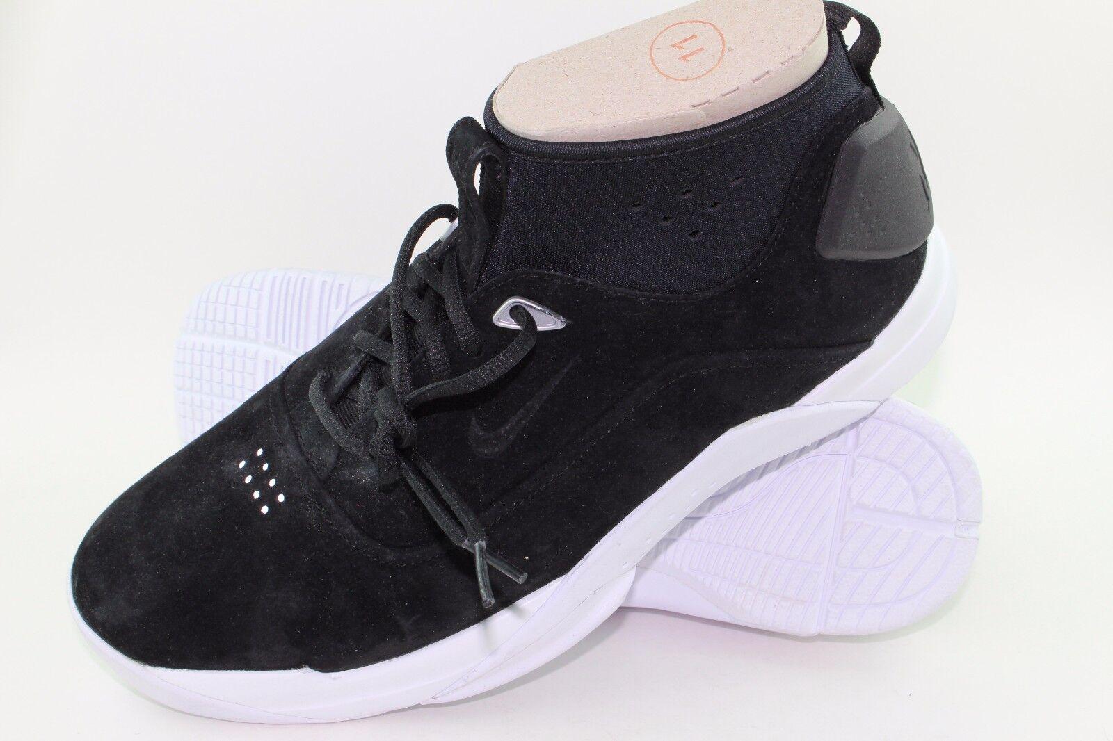 Nike Hyperdunk Low Lux Black Men Size 11.5 New Rare Authentic Basketball