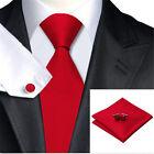 100% Jacquard Woven Silk Fashion Solid Plain Classic Necktie Necktie Men Tie Set