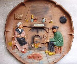 Assiette-deco-artisanat-ancien-bois-fait-main-LE-MONT-DORE-fabrication-Francaise