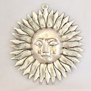 Large Sun Face Ornament Sun Mask Plaque Wall Hanging