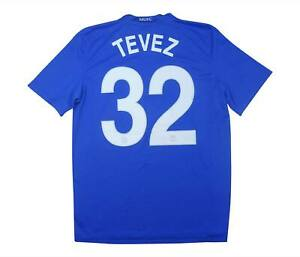 Manchester United 2008-09 Authentic Terza Maglia TEVEZ #32 (OTTIMO) M