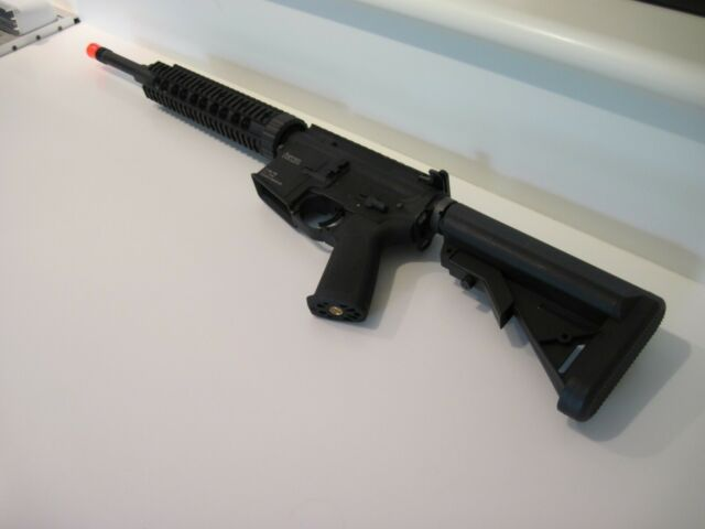 Kwa Pts Magpul Rm4 Cqb Aeg Airsoft Recoil Rifle For Sale Online Ebay