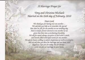 Image Is Loading 034 A Marriage Prayer Personalized Poem Beautiful